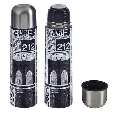 BZ2955 - טרמוס בעיצוב גזרי עיתון 1/2 ליטר / ליטר