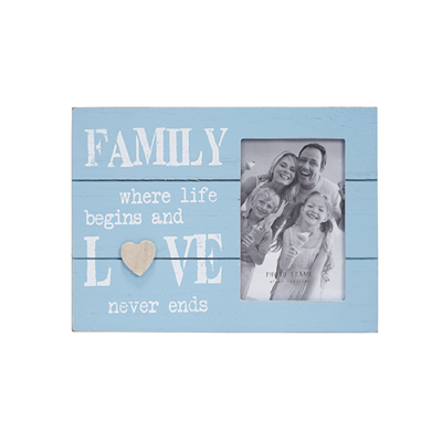 "BZ3749- מסגרת עץ עם הכיתוב "" Family """