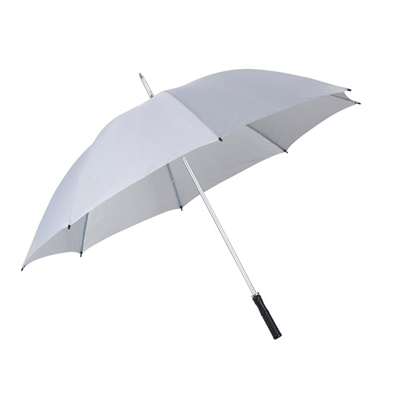 BZ2492-מטריה ג'מבו כסופה עם ידית