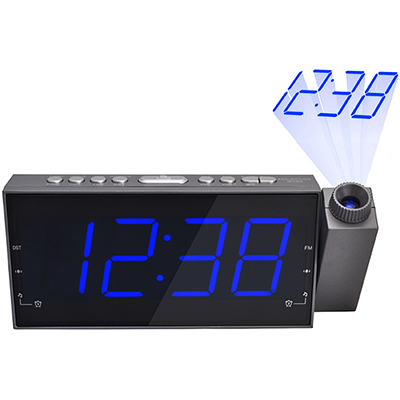 BZ4069 - רדיו שעון ומקרן