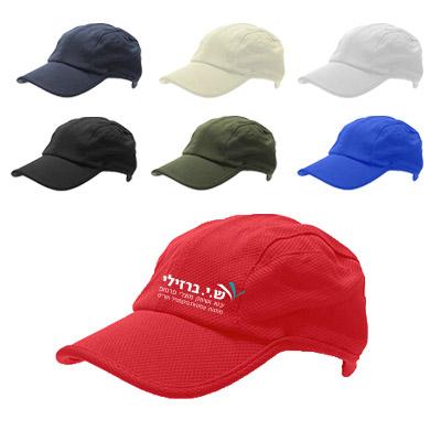 BK2220 - כובע מצחיה 6 פאנלים דרייפיט