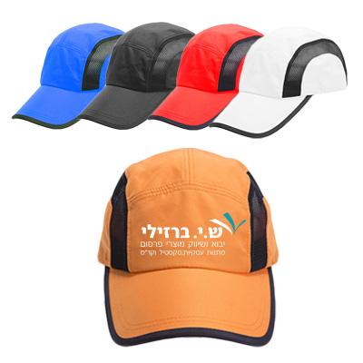 BK2159 - כובע מצחיה 5 פאנלים מעוצב