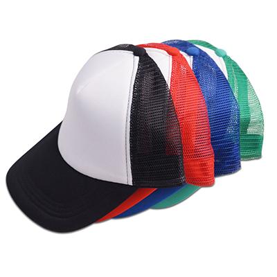 BC1370 - כובע רשת 5 פאנלים