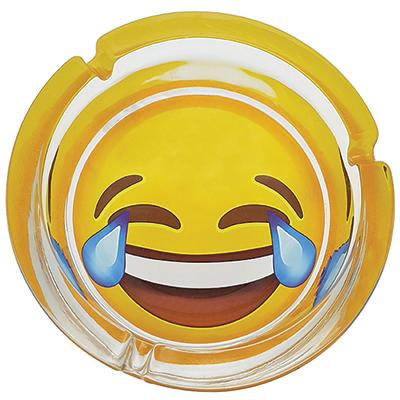"BZ4224 - מאפרת אימוג'י ""נקרע מצחוק"""