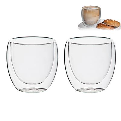 BM8521 - כוס זכוכית דופן כפולה