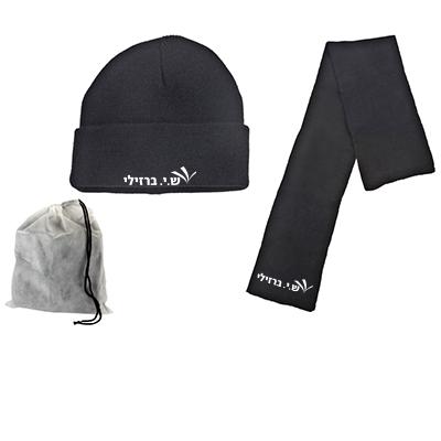 BM5010 - סט כובע וצעיף