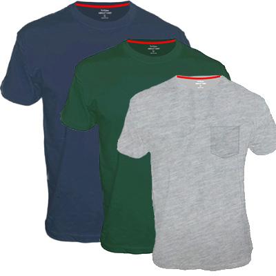 חולצת טריקו עם כיס