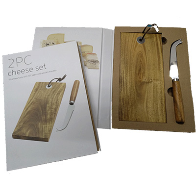 BL2032 - קרש חיתוך עם סכין גבינה
