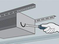 garage frozen door - repair tips