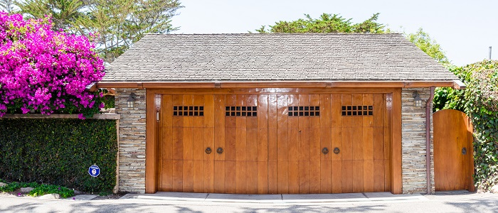 custom wood garage door los angeles