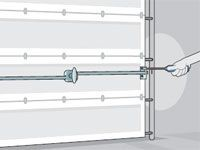 garage door won''t lock - repair tips