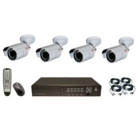 ערכה להתקנה עצמית של 4 מצלמות אבטחה