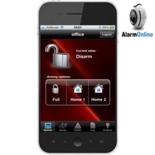 ענק אלארם און ליין, Alarm Online - כרטיס רשת עבור מערכת אזעקה פימא RB-94
