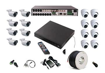 מערכת 16 מצלמות אבטחה