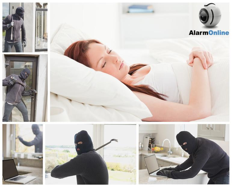 מצלמות אבטחה כנגד פורצים