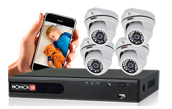 מערכת מצלמות אבטחה
