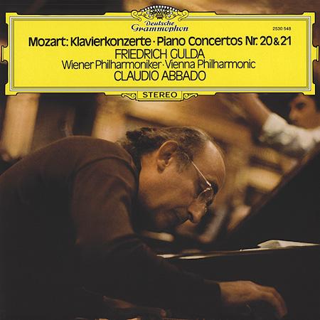 Mozart Piano Concerti 20 21 Gulda Abbado