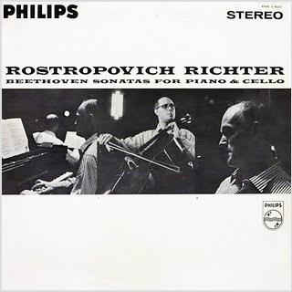 Beethoven Cello Sonatas Rostropovich Richter