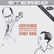 Mendelssohn Chopin Cello Sonatas Starker Sebok