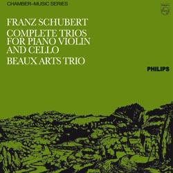 Schubert Piano Trios Beaux Arts