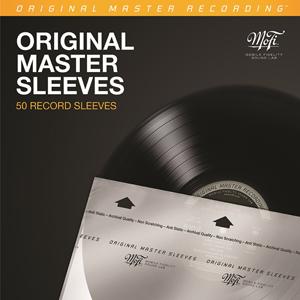50יח' עטיפה פנימית לתקליט Mobile Fidelity Inner Sleeves