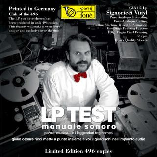 LP038 Giulio Cezare Ricci Test LP