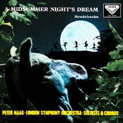 Mendelssohn Midsummer Night's Dream Maag