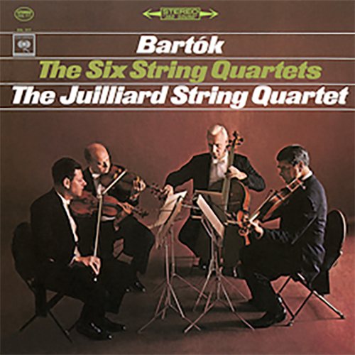 Bartók The Six String Quartets Juilliard AAA