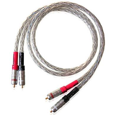 כבל אנלוגי Xindak CFA-1 Carbon Fiber RCA