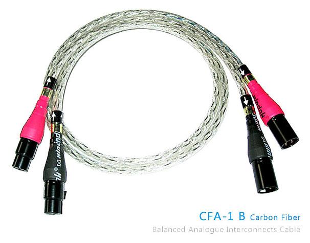 כבל אנלוגי Xindak CFA-1 B Carbon Fiber XLR