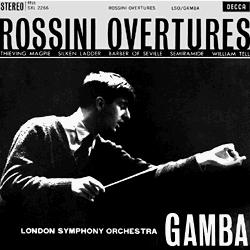 Rossini Overtures Gamba
