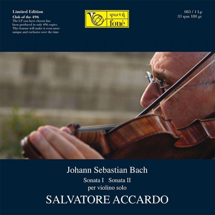 LP083 Bach Violin Sonatas Nos. 1 & 2 Accardo