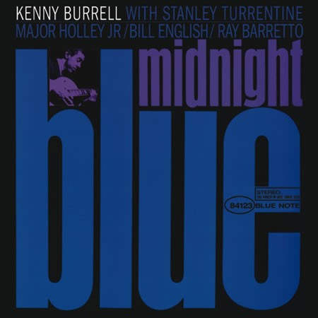 Kenny Burrell Midnight Blue 45rpm