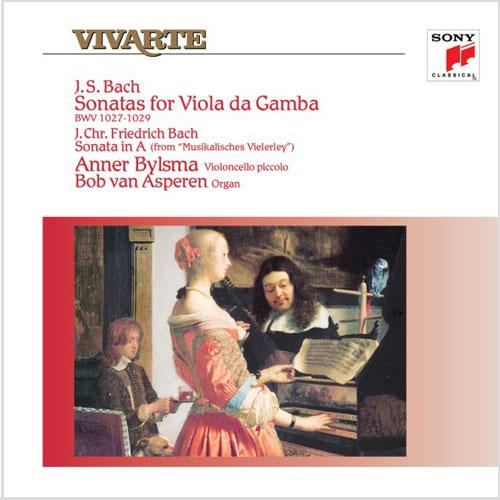 Bach Viola Da Gamba Sonatas Bylsma