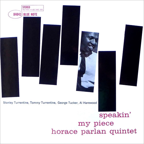 Horace Parlan Speakin' My Piece