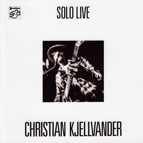 Christian Kjellvander Solo Live