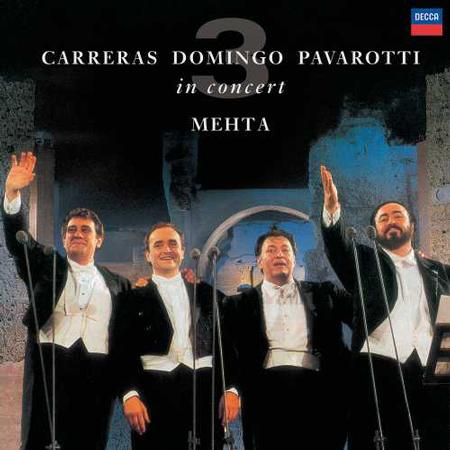 Pavarotti Domingo Carreras The Three Tenors