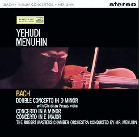 Bach Menuhin Violin Concertos