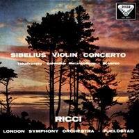 Sibelius Violin Concerto/ Tchaikovsky Sérénade Mélancolique Ricci