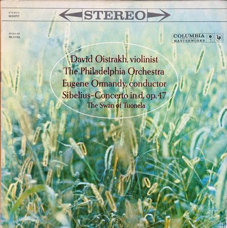 Sibelius Violin Concerto Oistrakh