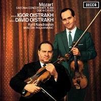 Mozart Sinfonia Concertante David & Igor Oistrakh