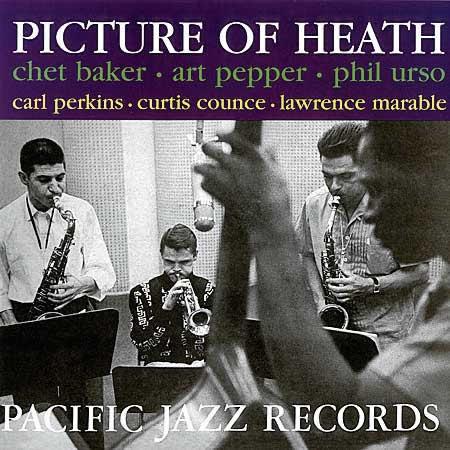 Chet Baker & Art Pepper Picture of Heath