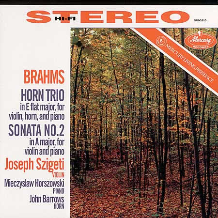 Brahms Trio for Violin, Horn & Piano/ Sonata No. 2