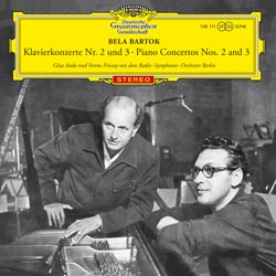 Bartok Piano Concertos 2 and 3 Anda