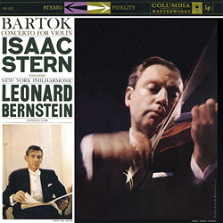 Bartok Violin Concerto No. 2 Stern Bernstein
