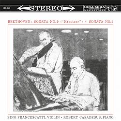 Beethoven Violin Sonatas No. 9 Kreutzer and No. 1 Francescatti Casadesus