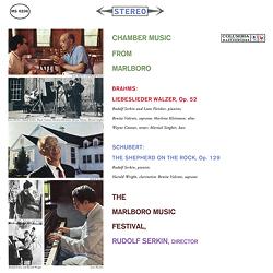 Brahms Schubert Chamber Music From Marlboro Serkin