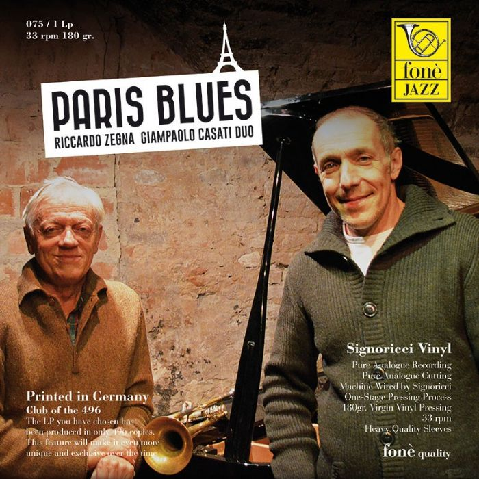 LP075 Paris Blues