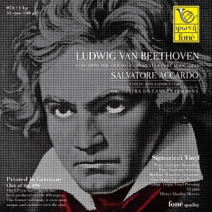 LP073 Beethoven Violin Concerto Accardo