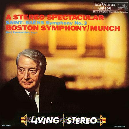 Saint-Saens Symphony No. 3 Munch